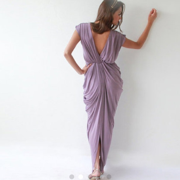 feb0ac68576f Blush Dresses   Skirts - Purple bridesmaids dress one size fits all